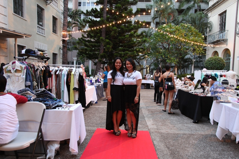 (left to right) First Lady The Movement founder, Donna Mae Rizando and creative director/partner, Rachael Ranchez-Bosque