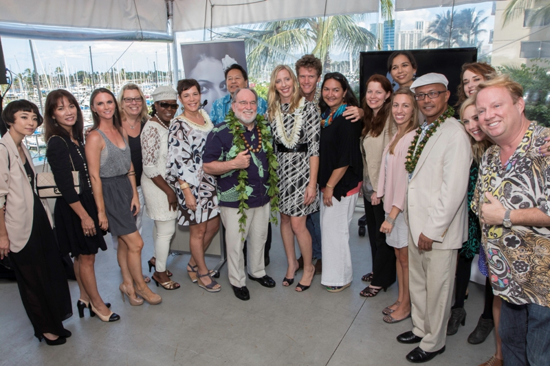 Governor Abercrombie and the Hawaii Fashion Month Steering Committee