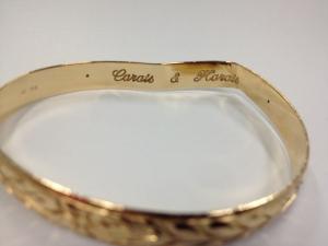 Lauren's bracelet